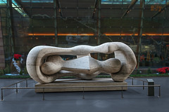 Aria Fine Art Collection: Reclining Connected Forms by Henry Moore