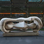 Aria Fine Art Collection: Reclining Connected Forms by Henry Moore thumbnail