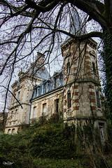 Château du gramophone (olivier.debot) Tags: château urbex rurex exploration urban végétation arbre nikon d7100 ciel sky lierre ronce