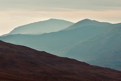 Landscape layers, Snowdonia (Nige H (Thanks for 15m views)) Tags: nature landscape mountains mist wales snowdonia rhydddu moelhebog silhouette