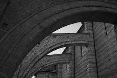 Buttresses in Assisi (Jethro_aqualung) Tags: umbria assisi italy perugia bn bw monochrome church nikon d800e contrafforte