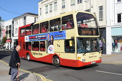 BH 682 @ Churchill Square, Brighton (ianjpoole) Tags: brighton hove scania n94ud east lancs omnidekka yn57fym 682 working route 29 churchill square royal victoria place tunbridge wells