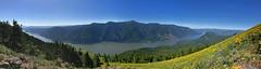 Dog Mountain in WA (landscapesinthewest) Tags: dog mountain washington west pacific northwest panorama panoramic american river landscape