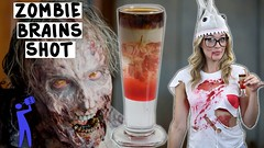 Zombie Brains Shot - (Halloween) - Tipsy Bartender (tastyfood99) Tags: bartender brains halloween shot tipsy zombie