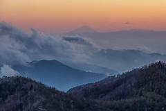 Mt. Fuji from Nikko! (703) Tags: autumnleaves autumn サンセット nature sunset mtfuji fall 紅葉 夕暮れ tochigi nikko 雲海 自然 富士山 sky 秋 栃木 日光 ケーブルカー pentaxk3ii 日本 cablecar 空 japan 夕景 tokyo