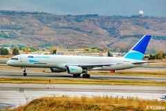 ASL AIRLINES B757 OE-LFB (Adrian.Kissane) Tags: oelfb asl cargo b757 madrid 24868