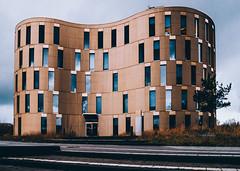 Modern Building | Kiel, Germany (Nils Hempel | Photography) Tags: deutschland deu building architecture modern urban urbex city kiel design pov windows reflections