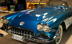 59Corvette-01 (austexican718) Tags: corvette car museum classic veteran vintage v8 sportscar texas canon