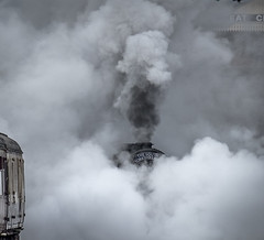 All will be revealed (Peter Leigh50) Tags: great gcr central railway steam smoke locomotive loughborough train fujifilm fuji xt10