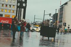 Mindy Wonday (.Dirk) Tags: berlin olympusem10ii mzuiko4518 street people prime windy monday hund dog doggybag mft m43 potsdamerplatz rainy tiergarten