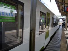 Before departure (しまむー) Tags: panasonic lumix dmcgx1 gx1 sigma art 19mm f28 dn round trip train