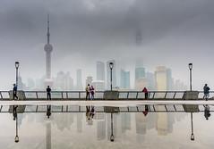 NOIꓕꓛƎꓶꓞƎꓤ (aurlien.leroch) Tags: pudong china chine shanghai asia skyline cityscape nikon reflet reflection