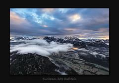 Sunbeam hits Kufstein (MC--80) Tags: sunbeam hits kufstein pendling wilder kaiser kitzbühler alpen