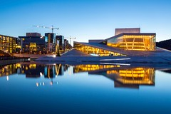 Oslo Opera House Norway (clayhaswell) Tags: opera house oslo scandinavia norway landmark twilight dusk morning sunrise architectural norwegian architecture art beautiful blue building city sea concrete contemporary culture day europe fjord glass gorgeous holiday ice landscape magnificent modern museum national new north sightseeing sky snow theater town travel vacation view water winter wonderful thailand