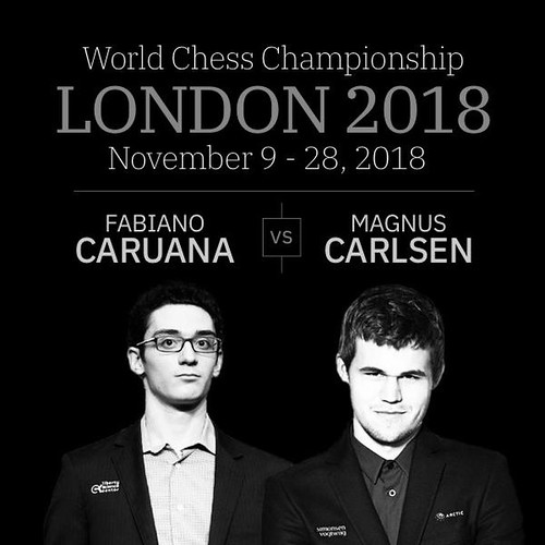 CHECK MATES » The Super Bowl of chess begins today. For the next 20 days, the worlds two best chess players will play 12 gruelling games in London for the title of World Chess champion and a 1 million Euro prize.⠀ THE CHAMP » Magnus Carlsen, 27, is known