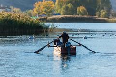 Setting Off (George Plakides) Tags: fisherman lake kastoria greece macedoniagreece makedonia macedoniatimeless macedonian macédoine mazedonien μακεδονια македонијамакедонскимакедонци