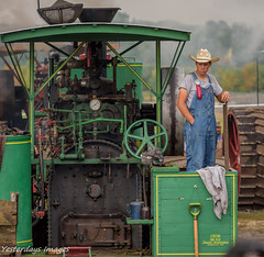 Buffalo Pitts (David Clippinger) Tags: forestcityiowa tractorshows steamshow steam steamengine buffalopitts heritageparkofnorthiowa