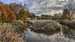 Schmutterschleife (Robbi Metz) Tags: deutschland germany bayern bavaria stauden augsburgwestlichewälder landscape schmutter river creek autumn forest sky colors canoneos