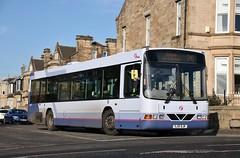 First Glasgow SJ51 DJK (61652) | Route 241 | Orchard St, Motherwell (Strathclyder) Tags: first glasgow firstglasgow volvo b10ble wright renown sj51 djk sj51djk 61652 orchard street motherwell north lanarkshire scotland olympialivery overtown sv642
