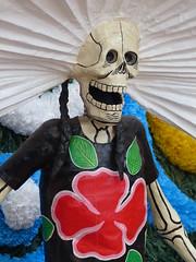 el dia de los muertos (gerrygoal2008) Tags: dia muertos skeleton casa azul frida tradition anceters ancetres ancestores fiesta memory azteque azteca precolombian scary fun funny scare popular popart art pueblo people celebration memoire crane head muerte mort life bones os fete toussaint