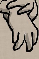 2018.06.22 Gloves (Julia L. Kay) Tags: zenbrush zenbrushapp zen brush zenbrushapponly bw blackandwhite black white juliakay julialkay julia kay artist artista artiste künstler art kunst peinture dessin arte woman female sanfrancisco san francisco sketch dibujo daily everyday 365 mobileart mobile idraw isketch iart digital mda iamda mobiledigitalart ipad touchscreen fingerpaint fingerpainter touch tablet iphone idevice ithing