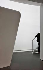 Exit (herman van hulzen) Tags: hermanvanhulzen netherlands nederland zwolle man people museum defundatie architecture biermanhenketarchitects stairs
