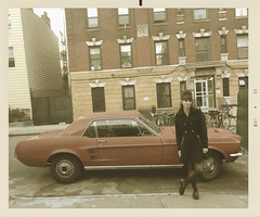 Mustang 1969 (Vintage car nut) Tags: vintage style photography 1960s mustang old car mod fashion brooklyn williamsburg