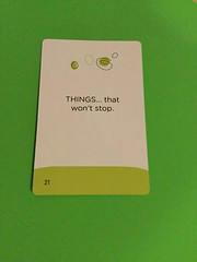 Card 16 (Pookie_Monster) Tags: things that wont stop