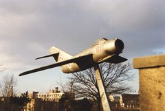 1963 MiG-15 - Polish Air Force (Ray's Photo Collection) Tags: poland mig15 polishairforce polish winter snow tour rail 1963 military jet poznań poznan