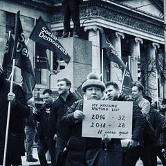 Homeless Protest Dublin 2018 (kierancoughlan1) Tags: homelessness dublin social protest street