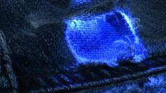 Macro Monday Cloth (rq uk) Tags: rquk nikon d750 blue nikond750 afsvrmicronikkor105mmf28gifed macro light jeans cloth ripped macromondays
