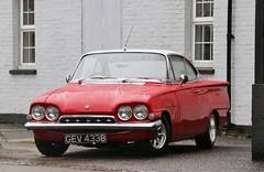 GEV 433B (Nivek.Old.Gold) Tags: 1964 ford consul capri 1498cc
