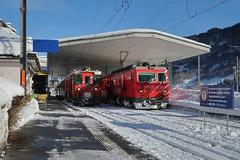 MGB - Station Disentis/Mustér