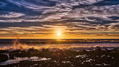 December Sunset 4 (Jörg Bergmann) Tags: 2018 crepúsculo islascanarias lumixg20f17 lagomera panasonic20mmf17 panasonicdmcgm1 pancake sonnenuntergang vallegranrey atardecer canarias canaryislands coast december españa gm1 goldenhour gomera hiver invierno lumix lumix20mm m43 mft micro43 microfourthirds ocean panasonic puestadesol rocks sea seascape spain sundown sunset surf travel vacation water winter μ43
