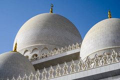 Domes at Sheikh Zayed Grand Mosque