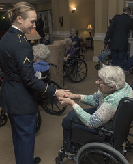 Wisconsin National Guard (The National Guard) Tags: wisconsinnationalguard wing nationalguard wisguard 32ndinfantry redarrowstrong wisconsin wi assisted living greeting holiday carols singing goodwill community relations retirement facility ng national guard guardsman guardsmen soldier soldiers airmen airman us army air force united states america usa military troops 2018