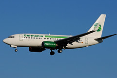 D-AGEN (Germania) (Steelhead 2010) Tags: germania boeing b737 b737700 dus dreg dagen