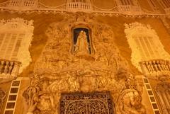 musée national de la céramique (domclavaud) Tags: valencia espagne art architecture musée céramique sculpture mur facade