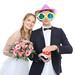 Brautpaar mit Buzzer