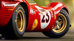 Ferrari 330 P4 (chumako@bellsouth.net) Tags: 1967 daytona 23 champion fram shell firestone ferrari p4 330 330p4 red playstation ps4 gaming gtsport scapes cars granturismo