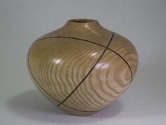 Ash Vessel, Sliced & Glued          ... by the author