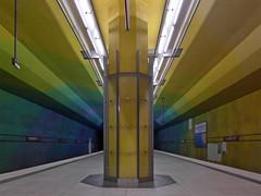 Candidplatz (jrw080578) Tags: lights underground germany deutschland bavaria bayern munich münchen ubahn
