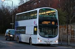 First Glasgow YN06 URB (37148) | Route X3 | North Hanover Street, Glasgow (Strathclyder) Tags: first glasgow firstglasgow volvo b7tl wright eclipse gemini yn06 urb yn06urb 37148 north hanover street scotland olympiarevised caledonia dv199 firstsouthyorkshire