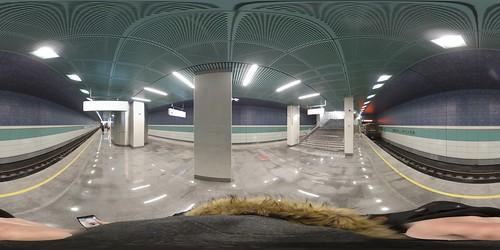 Metro Belomorskaya opening day 360 ©  Artem Svetlov