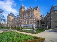 Rijksmuseum (staetebau) Tags: nederlande niederlande netherlands amsterdam rijksmuseum reichsmuseum nationalmuseum outdoor