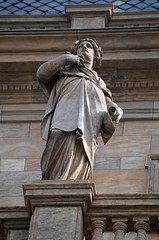 Prager Fassadendetails - 35 (fotomänni) Tags: prag praha prague kunst art reisefotografie statue skulpturen skulptur sculpture manfredweis
