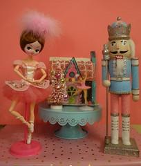 The Dolly Dreamland Royal Ballet Presents... (Primrose Princess) Tags: thenutcrackerballet ballet christmas pink princess dollydreamland landofthesweets tutu dance vintage pose doll japan posedoll royal royalballet pastries gingerbreadhouse candy sugarplumfairy clara nutcracker nutcrackerprince