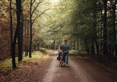 1987 Germany // Fernwanderweg E1 (1987 Tour 6) // auf dem Deister // Klaus (maerzbecher-Deutschland zu Fuss) Tags: europäischerfernwanderwege1 e1 maerzbecher deutschland germany wanderwege 1987 weitwanderweg fernwanderweg deutschlandmitdemrad niedersachsen klaus