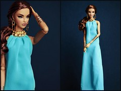 Tag Game: Barbie Meets Fashion Royalty (Bogostick) Tags: scenestealer isha fashionroyalty lookbarbieoutfit mattelclothes integritytoys