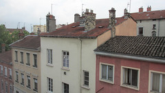 View from my cousin's house, Lyon (dckellyphoto) Tags: lyon france 2013 rhônealpes landscape cityscape wide buildings roof rooves
